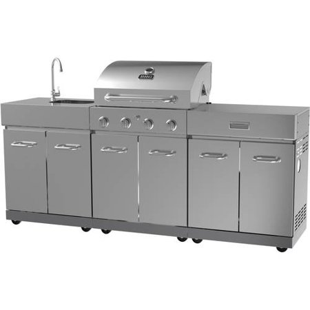 Better Homes And Gardens 4 Burner Stainless Steel Gas