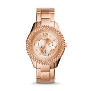 Fossil Women's Stella Rose Gold Stainless Steel Watch (Style: ES3590)