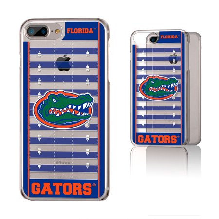 Florida Gators iPhone Clear Football Field Design Case Florida Gators Iphone Case