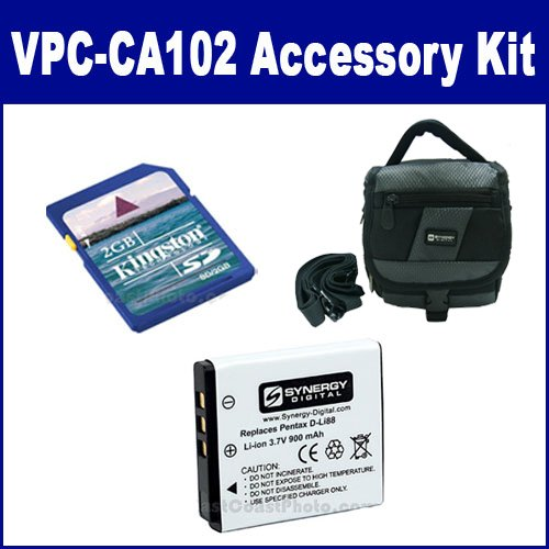 Sanyo Xacti VPC-CA102 Camcorder Accessory Kit includes: K...