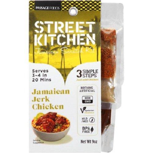 street kitchen jamaican jerk chicken jamaican scratch kit, 9 oz