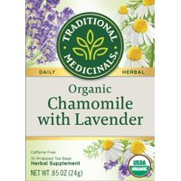 Traditional Medicinals, Organic Chamomile With Lavender, Tea Bags, 16 Count