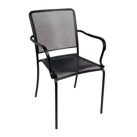 9b74cac35f74 BFM Seating Chesapeake Stacking Patio Dining Chair - Walmart.com