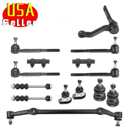 14PC Idler Arm Center Link Tie Rod End Ball Joint for Chevy Malibu Buick Regal (Idler End)