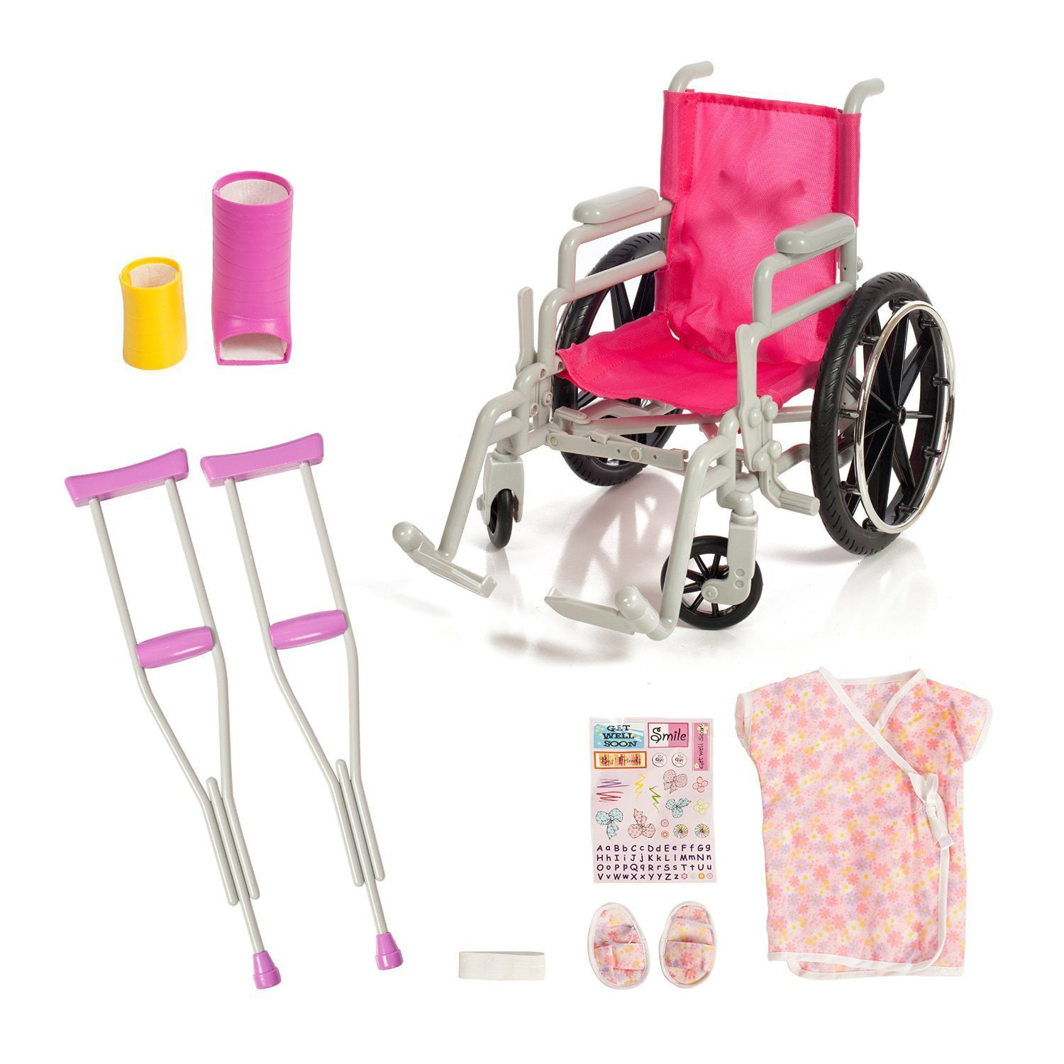 Prime Beverly Hills Doll Collection Wheelchair Set For 18 Inch American Girl Dolls Fully Assembled Wheelch Home Interior And Landscaping Ologienasavecom