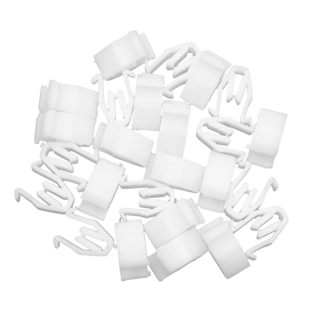25pcs Universal White Car Console Retainer Auto Dashboard Instrument Clip - image 2 of 2