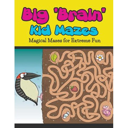 Extreme Cold Bib - Big Brain Kid Mazes : Magical Mazes for Extreme Fun