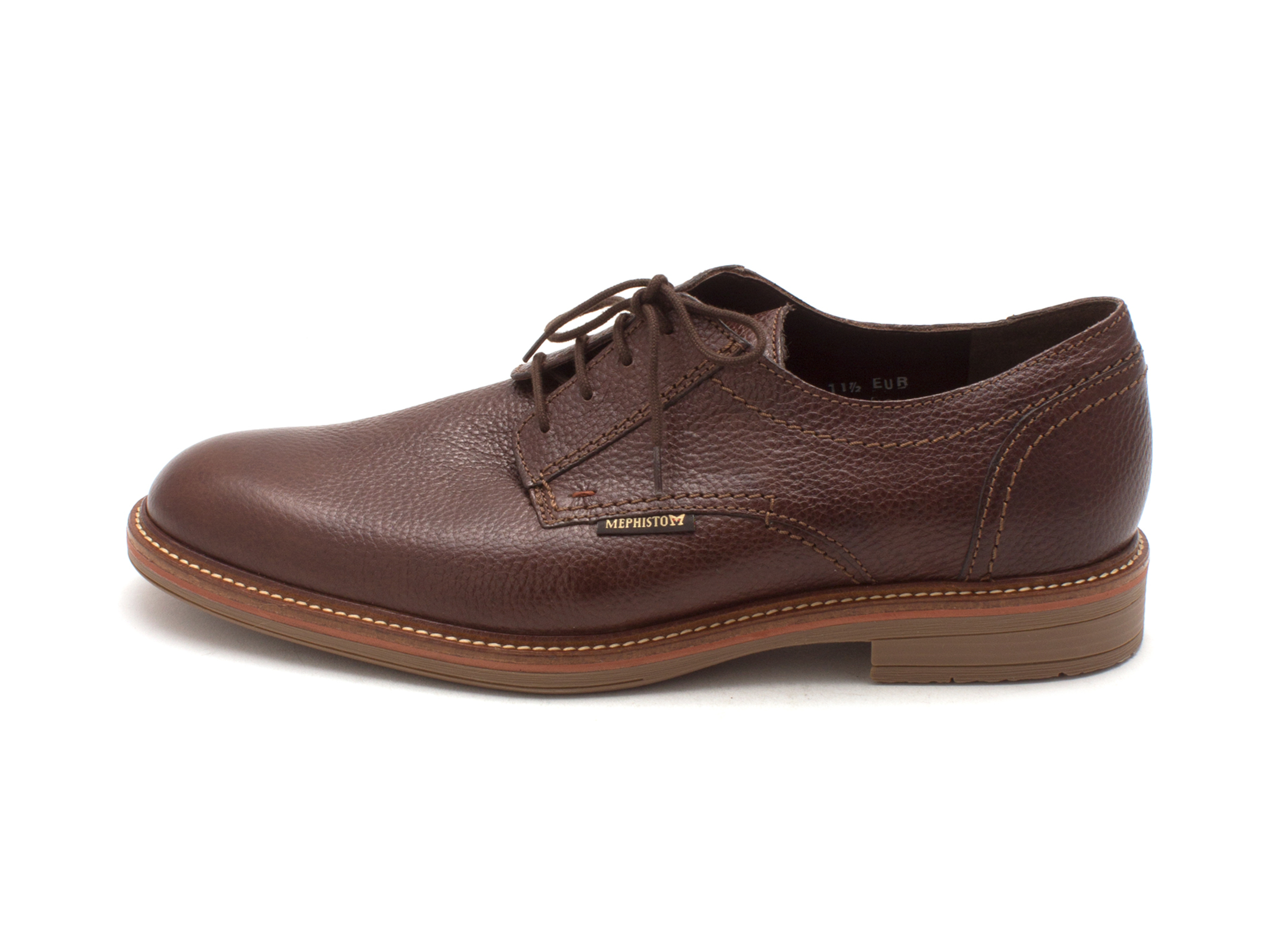 Mephisto Mens Waino Leather Lace Up Dress Oxfords by Mephisto