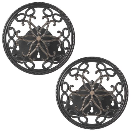 Decorative Hose Reels (Liberty Garden Aluminum Decorative Wall Mount Butler Garden Hose Reel (2 Pack))