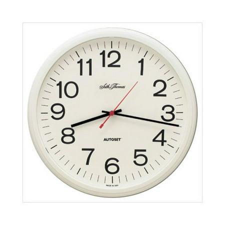 Seth Thomas 12 Manager Plastic Autoset Wall Clock