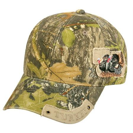 Camo Wildlife Series Hunting Hat (Mossy Oak Obsession/Turkey) [Misc.]