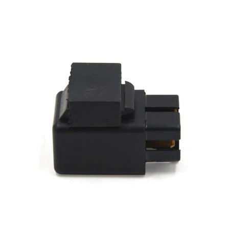 Module Relais d'alimentation Prise Noir 2PCS 4 Passage Terminal pour Voiture - image 1 de 2