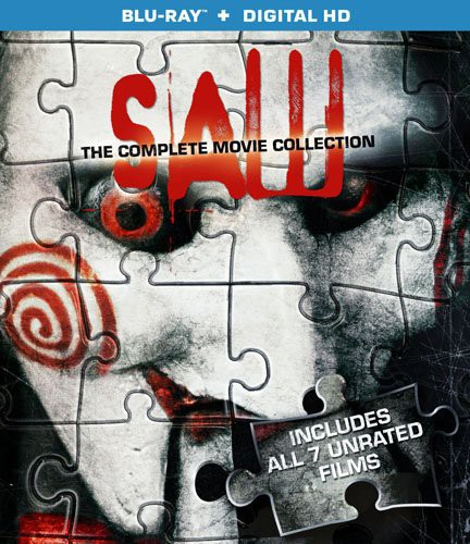 Saw: The Complete Movie Collection (Blu-ray + Digital HD) (VUDU Instawatch Included)