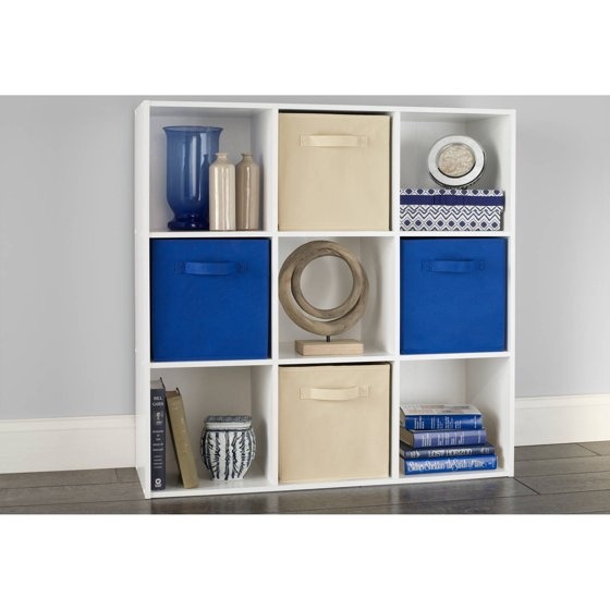closetmaid cubeicals 9 cube organizer white. Black Bedroom Furniture Sets. Home Design Ideas