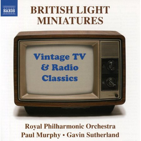 BRITISH LIGHT MINIATURES: VINTAGE TV & RADIO CLASSICS