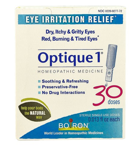 Optique 1 Eye Drops 30 Dose for Eye Irritation