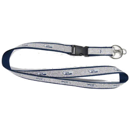nfl seattle seahawks sparkle lanyard
