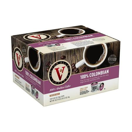 Colombian K-cups (Victor Allen's Coffee K Cups, 100% Colombian Single Serve Medium Roast Coffee, 100 count )