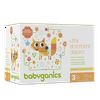 Babyganics Ultra Absorbent Diapers, Size 3, 78 Diapers