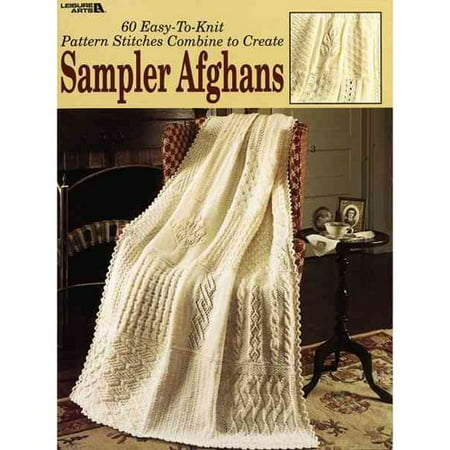 Knitting Stitches Samples : Sampler Afghans: 60 Easy-to-knit Pattern Stitches - Walmart.com
