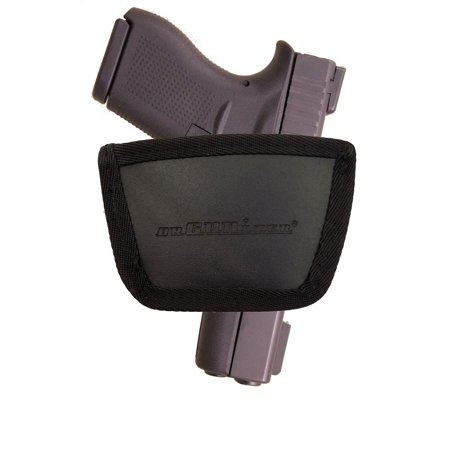 Garrison Grip Leather Inside and Outside Waistband Easy Slide Holster Fits Glock 43 (SLH) Brown Crimson Trace Glock Grips