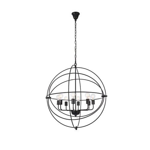 Brayden Studio Hamby 8 Light Globe Pendant