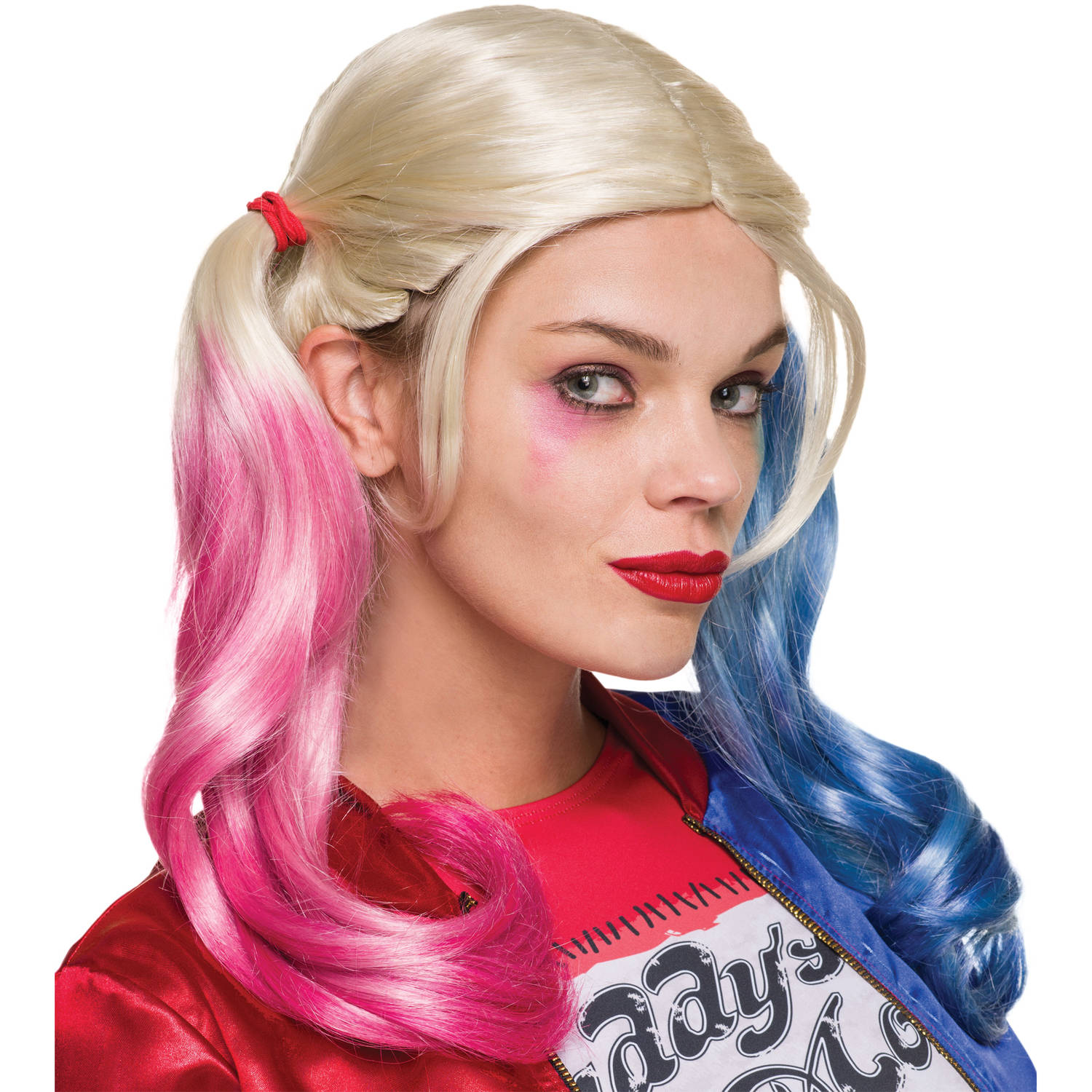 Suicide Squad Harley Quinn Wig Adult Halloween Accessory