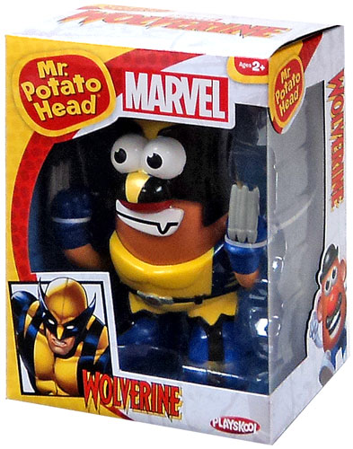 X-Men Wolverine Mr. Potato Head by PPW Toys