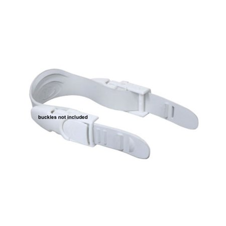 - TUSA Open Heel Fin White Strap Replacement