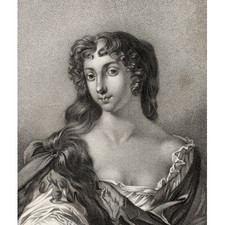 Anne Wharton Nee Lee Marchioness Of Wharton 1659  1685 English Poet From The Book A Catalogue Of Royal And Noble Authors Volume Iii Published 1806 Posterprint