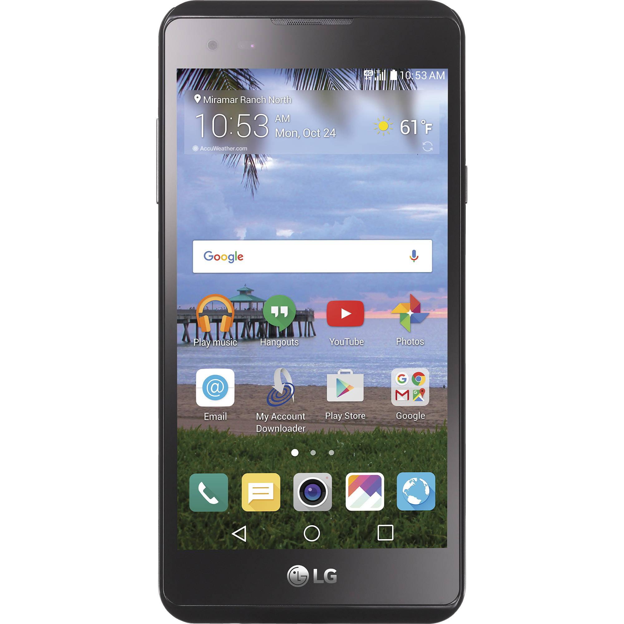 Straight Talk LG X Style 4GLTE Prepaid Smartphone