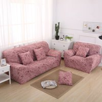 1-4 Seater Hight Quality Soft Sofa Covers Slipcover Elastic Stretch Settee Protector Couch (Chair, Loveseat, Sofa)