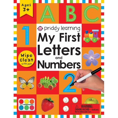 Wipe Clean Workbook: My First Letters and Numbers : Ages 3+; with
