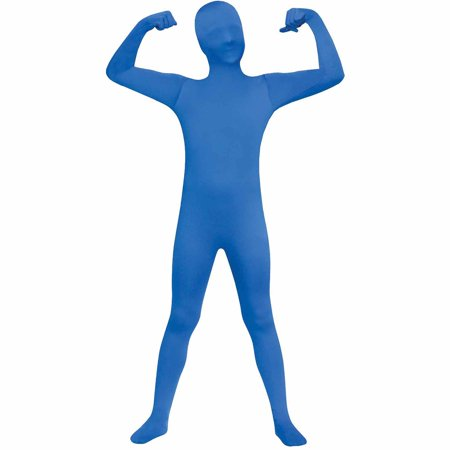 Blue Skin Suit Child Halloween Costume](Halloween Suit Costumes)