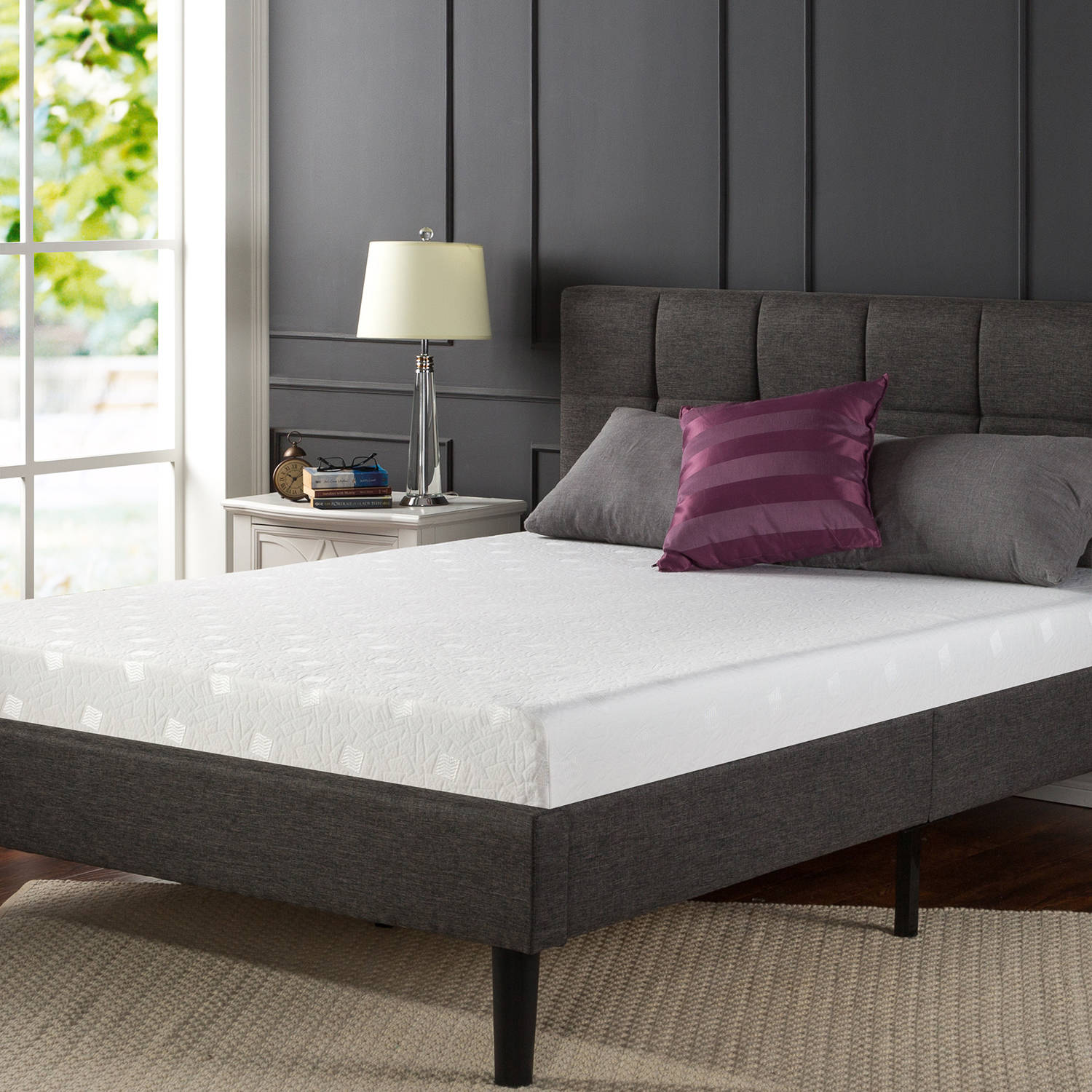 "Spa Sensations 6"" Memory Foam Comfort Mattress"