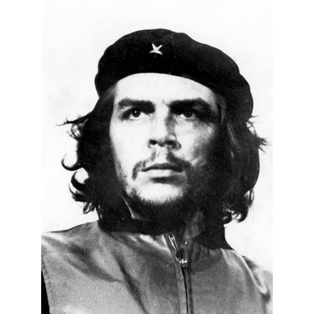 - LAMINATED POSTER Man Face Portrait Che Guevara Rebel Poster Print 24 x 36