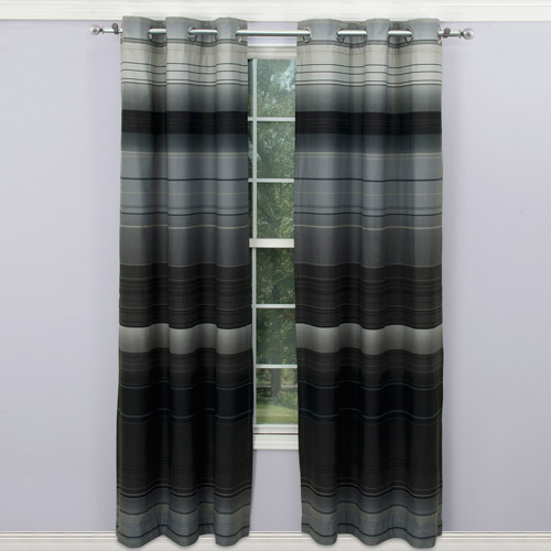 Ombre Curtain Panel, Set of 2