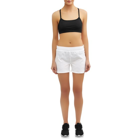 24694d874 Daisy Fuentes - Women s Active Running Short with Lasercut Detail ...
