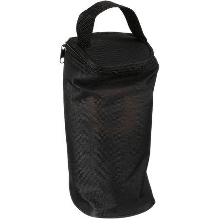 JL Childress Safe-to-Go 1-Bottle Baby Bottle Cooler Bag, Black