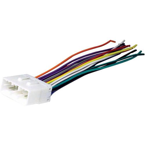 SCOSCHE HY02B- 1989-2000 Hyundai Power/4-Speaker Wire Harness / Connector for Car Radio / Stereo Installation