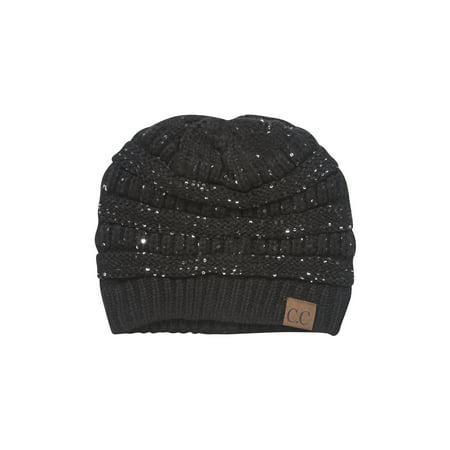 4a1d822c7 CC Winter Knitted Beanies w/ Sequins