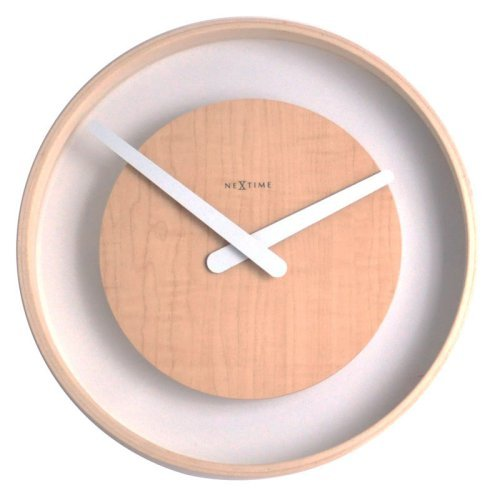 Control Brand Wood Loop 11.8 in. Wall Clock
