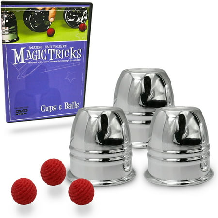 Magic Tricks You Can Master: Cups & Balls by Magic Makers - Halloween Themed Magic Tricks