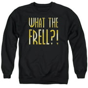Farscape What The Frell Mens Crewneck Sweatshirt
