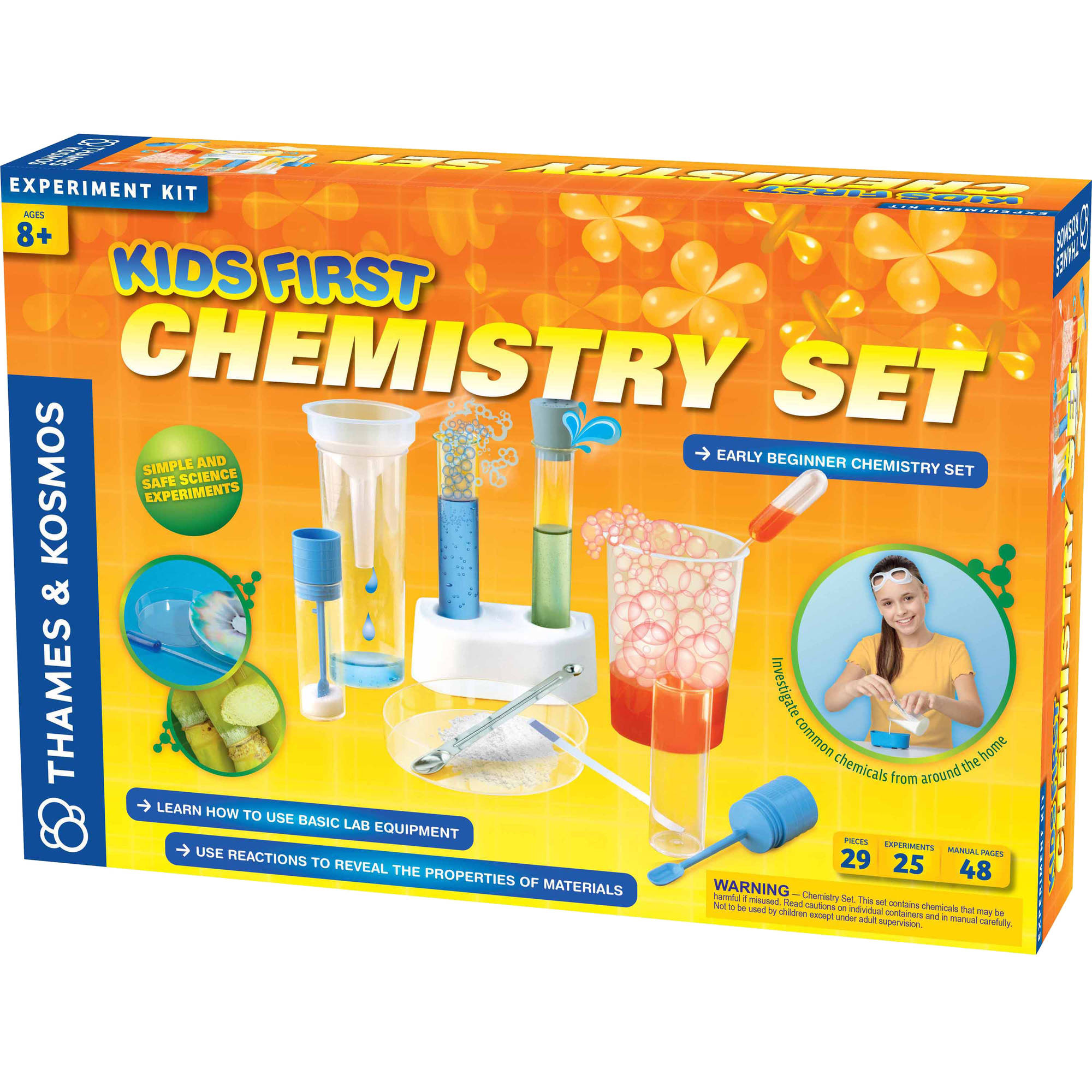 Thames & Kosmos Kids First Chemistry Set Science Experiment Kit