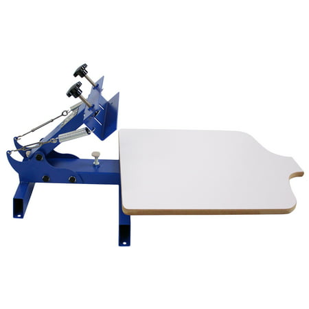Custom Screen Printing (Simple Single 1 Color 1 Station T-shirt Silk Screen Printing Machine NS101 )