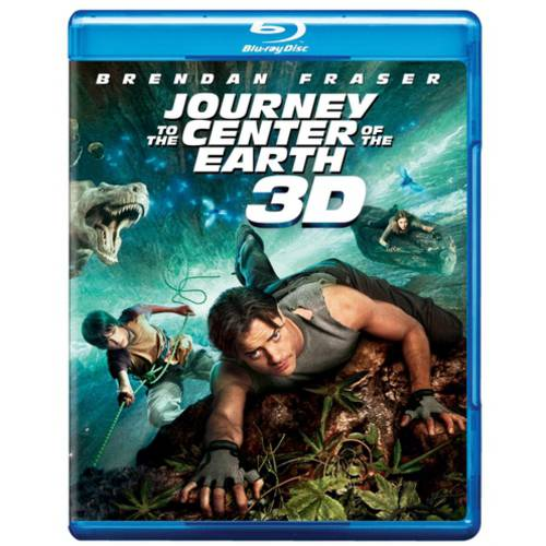 Journey To The Center Of The Earth (2008) (Blu-ray 3D + Blu-ray) (Widescreen)