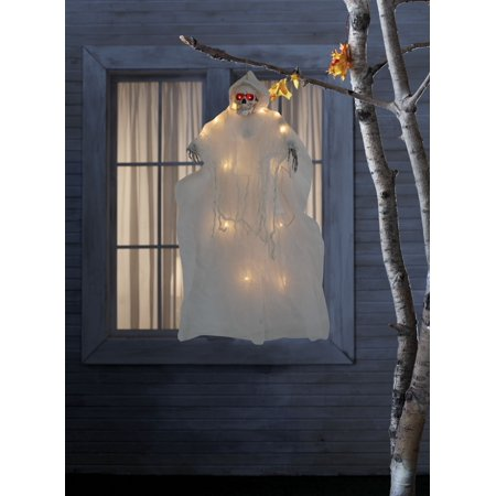 Way to Celebrate Halloween White Hanging Character Decoration (36 in)