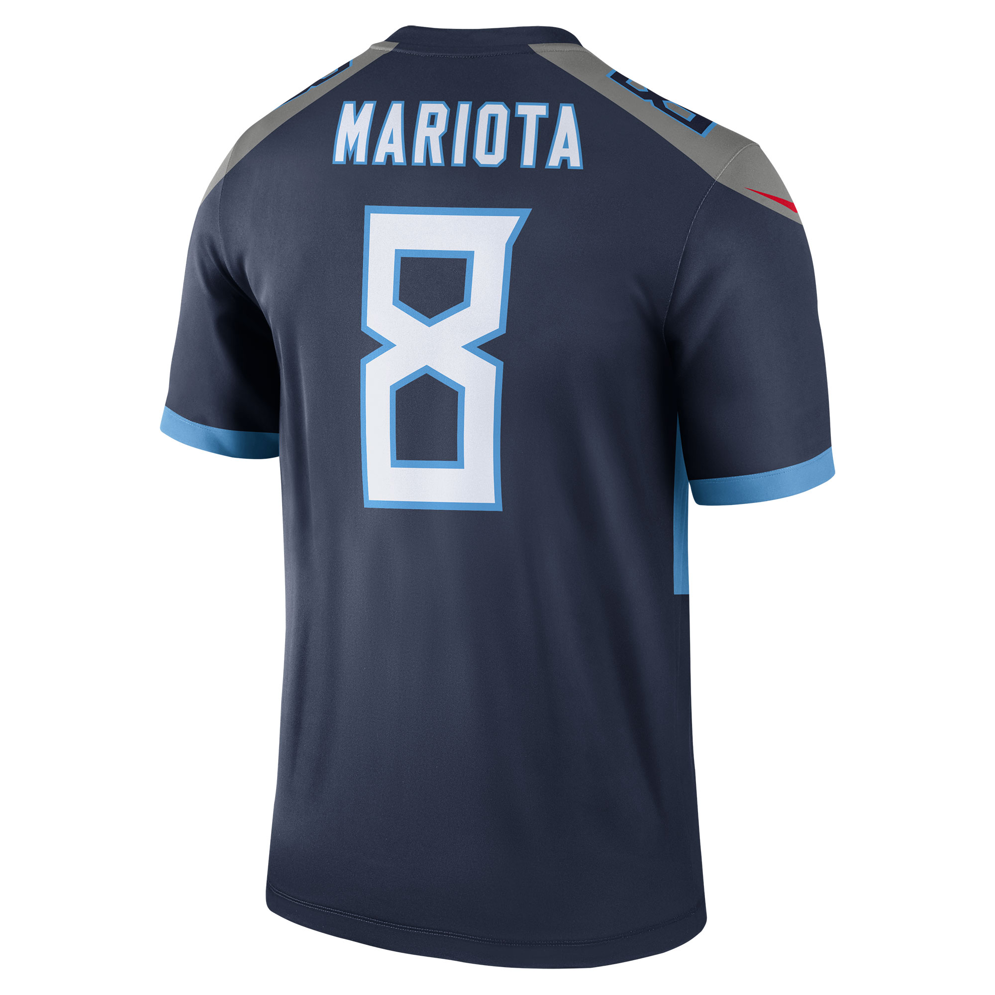 28d6cd38 Marcus Mariota Tennessee Titans Nike New 2018 Legend Jersey - Navy