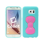 Charming Sweet Bow Hybrid Phone Case for Samsung Galaxy S6